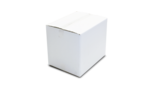 Box White 195 mm X 195 mm X 310 mm