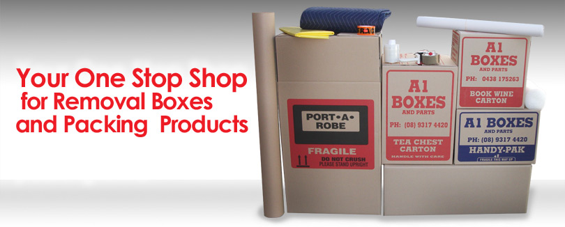 Your One Stop Shop for Removal Boxes and Packing Products